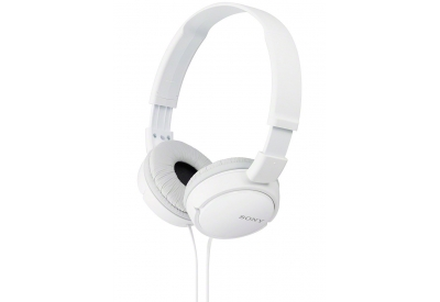 Sony - MDR-ZX110/W - Over-Ear Headphones