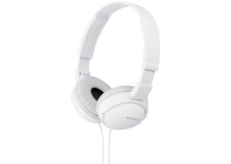 Sony White Over-Ear Stereo Headphones - MDR-ZX110/W