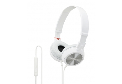 Sony - MDR-ZX300IP/W - Headphones