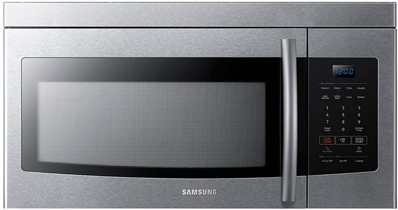Samsung Stainless Over The Range Microwave Me16k3000as