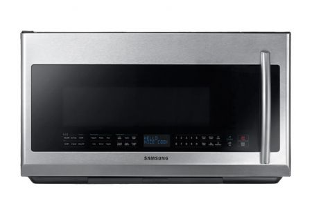 Samsung 2.1 Cu. Ft. Fingerprint Resistant Stainless Steel Over The Range Microwave - ME21F707MJT