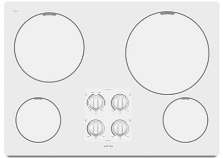 Maytag - MEC7430WW - Electric Cooktops