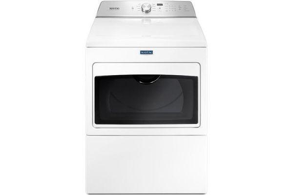Maytag White Electric Dryer - MEDB765FW