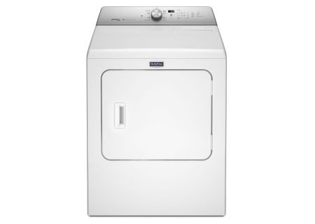Maytag 7.0 Cu. Ft. White Electric Dryer - MEDB766FW