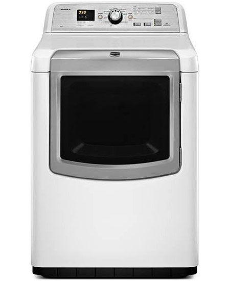 Maytag Bravos Xl He White Electric Dryer Medb880bw