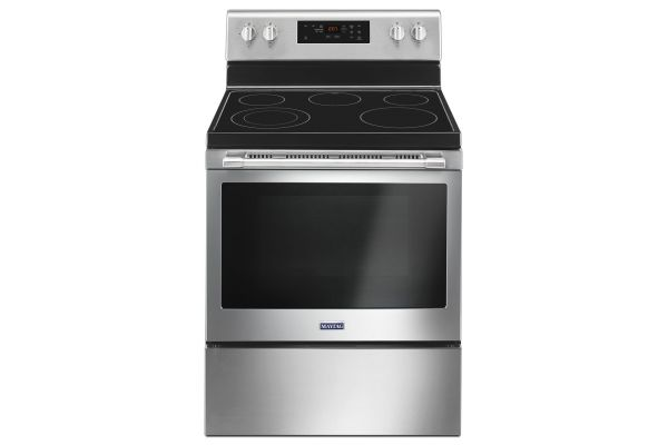 Large image of Maytag 5.3 Cu. Ft. Stainless Steel Electric Range - MER6600FZ