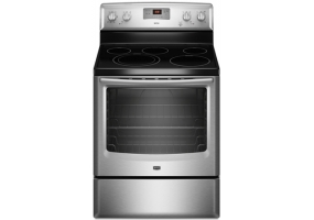 Maytag - MER8674AS - Free Standing Electric Ranges