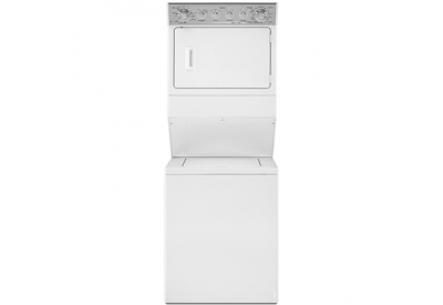 Maytag - MET3800XW - Stacked Washer Dryer Units