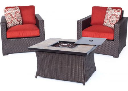 Hanover - MET3PCFP-BRY-B - Patio Seating Sets