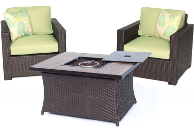 Hanover - MET3PCFP-GRN-A - Patio Furniture