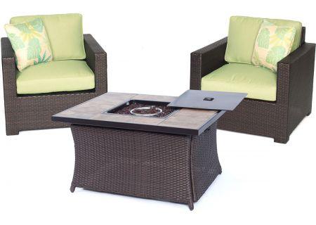 Hanover - MET3PCFP-GRN-B - Patio Seating Sets