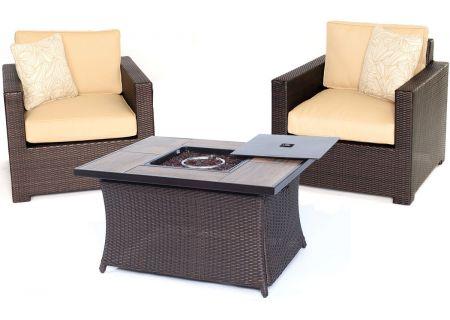 Hanover - MET3PCFP-TAN-A - Patio Seating Sets