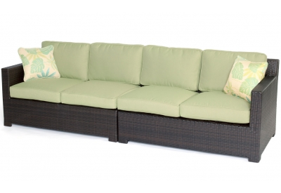 Hanover - METRO2PC-B-GRN - Patio Seating Sets