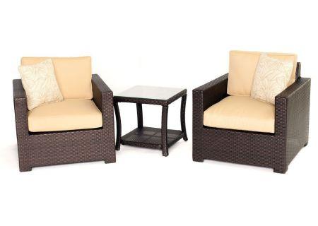 Hanover - METRO3PC-B-TAN - Patio Seating Sets