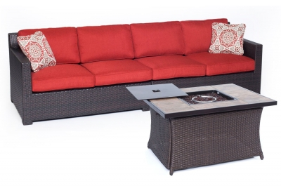 Hanover - METRO3PCFP-BRY-B - Patio Furniture