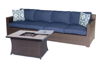 Hanover - METRO3PCFP-NVY-A - Patio Furniture