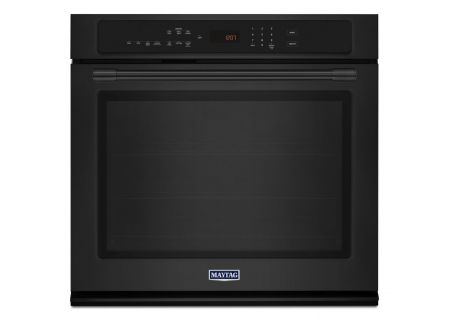 "Maytag 30"" Black Convection Electric Wall Oven - MEW9530FB"