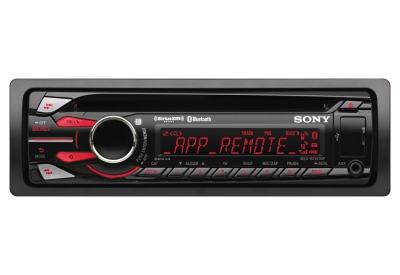 Sony - MEXBT4100P - Car Stereos - Single Din