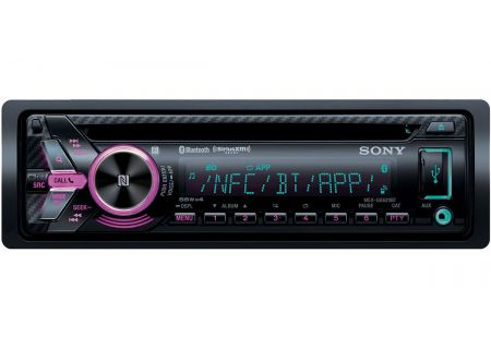 Sony Single DIN CD Receiver With Bluetooth - MEX-GS620BT