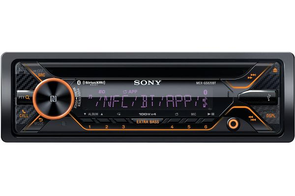 Sony Single DIN CD Receiver With Bluetooth - MEX-GS820BT