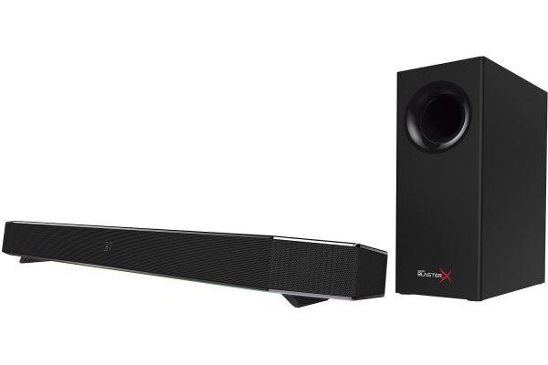 Large image of Creative Labs Sound BlasterX Katana Multi-Channel Gaming Soundbar - MF8245AA000