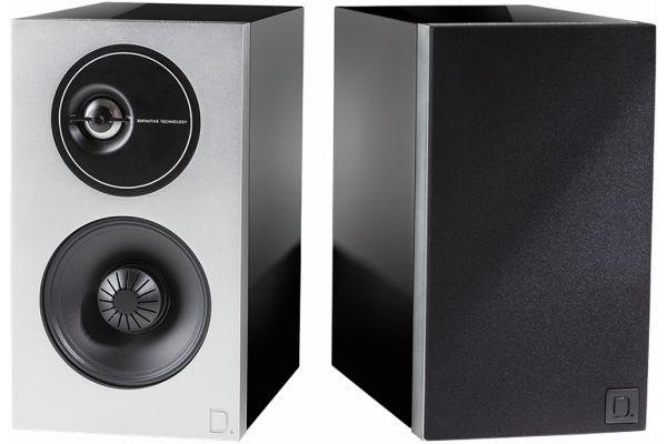 Definitive Technology Demand Series D7 Piano Black Bookshelf Speakers - MFAA