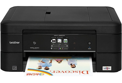 Brother Black All-In-One Wireless Inkjet Printer - MFC-J885DW