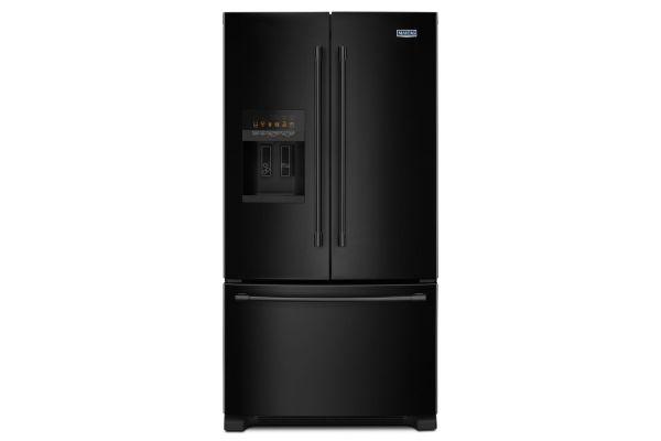 """Maytag 36"""" Black French Door Refrigerator  - MFI2570FEB"""