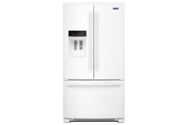 "Maytag 36"" White French Door Refrigerator  - MFI2570FEW"