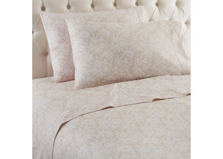 Shavel Micro Flannel California King Enchantment Taupe Sheet Set  - MFNSSCKETA