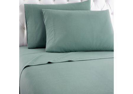 Shavel Micro Flannel California King Spruce Sheet Set  - MFNSSCKSPR