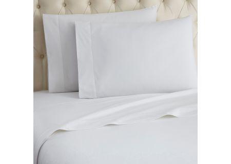 Shavel Micro Flannel California King White Sheet Set  - MFNSSCKWHI