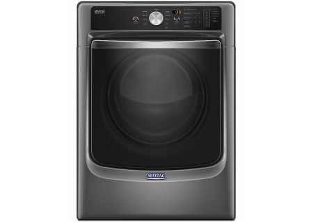Maytag Metallic Slate Electric Steam Dryer - MED8200FC