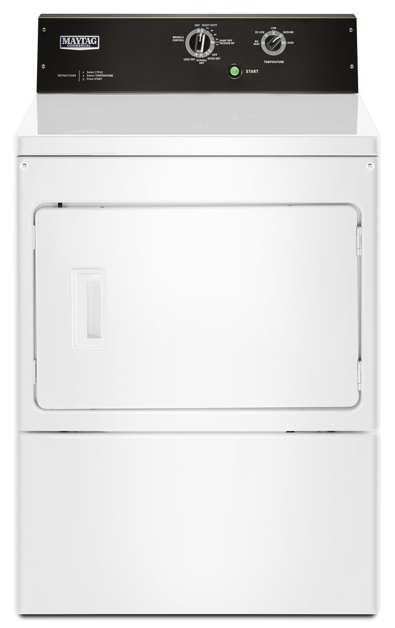 Maytag 7 4 Cu  Ft  Commercial-Grade Residential Dryer