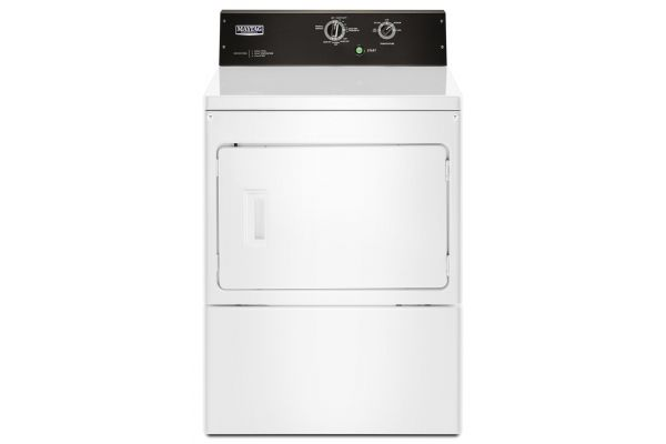 Large image of Maytag 7.4 Cu. Ft. Commercial-Grade Residential Dryer - MGDP575GW