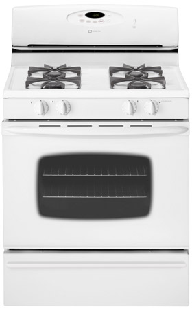 Maytag Mgr4452bd White 30 Quot Super Capacity Free Standing