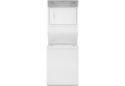 Maytag - MGT3800XW - Stacked Washer Dryer Units