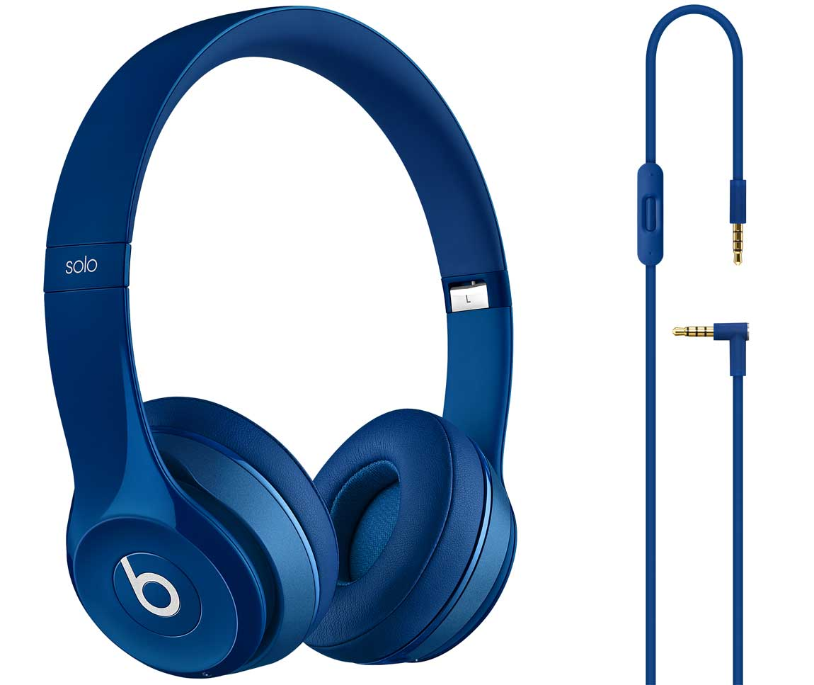 Beats By Dr. Dre Blue Solo2 HD Headphones