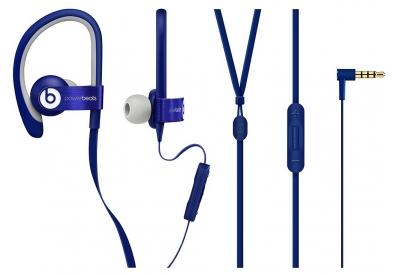 Beats By Dr. Dre Blue Powerbeats2 Wired In-Ear Headphones - MHCU2AM/A