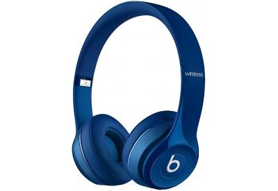 Beats By Dr. Dre Solo2 Blue On-Ear Wireless Headphones - MHNM2AM/A