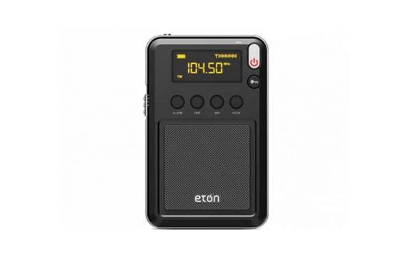 Eton Mini Black AM/FM/Shortwave Portable Radio - MINI