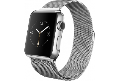 Apple Watch 38mm Stainless Steel Case With Milanese Loop - MJ322LL/A