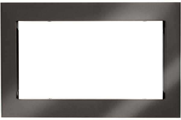 "Large image of LG 30"" Black Stainless Steel Microwave Trim Kit - MK2030NBD"