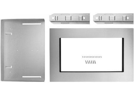 "KitchenAid 27"" Fingerprint Resistant Stainless Steel Trim Kit For Countertop Microwave Oven - MK2167AZ"