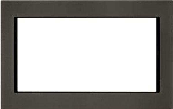 """Kitchenaid Microhood kitchenaid 30"""" black stainless steel trim kit - mk2220av"""