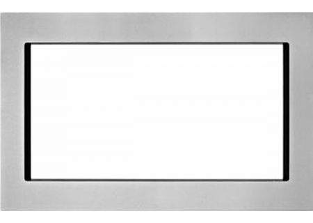 "KitchenAid 30"" Fingerprint Resistant Stainless Steel Trim Kit For Countertop Microwaves - MK2220AZ"
