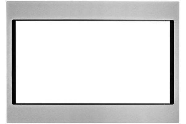 "Large image of KitchenAid 30"" Stainless Microwave Trim Kit - MK2220AS"