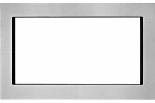 "Large image of KitchenAid 27"" Fingerprint Resistant Stainless Steel Trim Kit For Countertop Microwaves - MK2227AZ"