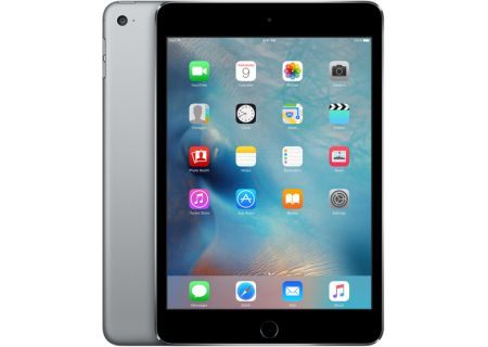 Apple iPad Mini 4 128GB Wi-Fi Space Gray  - MK9N2LL/A