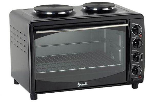 Avanti Black Multi-Function Small Electric Oven - MKB42B